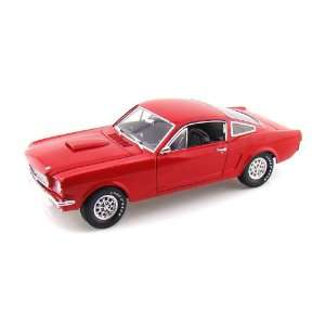 1966 Ford Shelby GT350 Fastback 1/18 Red Toys & Games