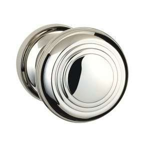 US26 Traditions Passage Knob Interior Door Hardware   Polished Chrome