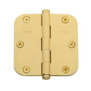 Baldwin 1135.003.I Lifetime Polished Brass General Hardware 3.5 x 3.5