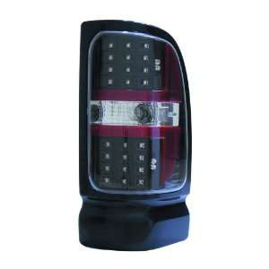 Depo M33 1901P US2 Dodge Ram Pickup Black LED Tail Light