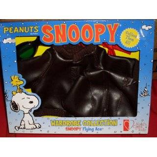 KOHLS 15 PLUSH SNOOPY FLYING ACE PILOT OUTFIT