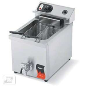 Vollrath 40709 15 Lb Medium Duty Electric Countertop Fryer