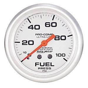 Auto Meter 4312 Ultra Lite Mechanical Fuel Pressure Gauge