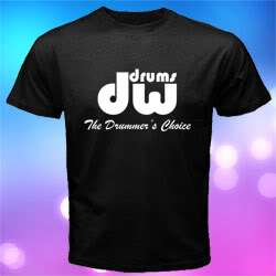 NEW *DW DRUM LOGO MUSIC Men T shirt size S to 3XL