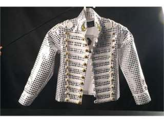 MJ Michael Jackson History shinning jacket,several sizes in stock,Free