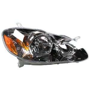 TYC 20 6235 70 Toyota Corolla Passenger Side Headlight