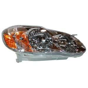 TYC 20 6235 00 Toyota Corolla Passenger Side Headlight