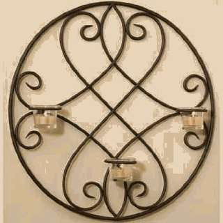 DD Discounts 378651 Lindsey Wrought Iron Wall Sconce