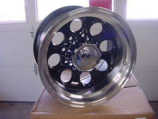 16X10 BLACK ION WHEEL/S DODGE CHEVY FORD 171 8 6 5 lug