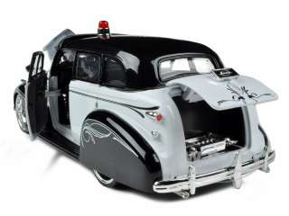 car of 1939 Chevrolet Master Deluxe Police die cast model car by