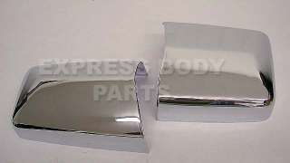 1986 1995 mercedes benz w124 chrome mirror covers pair 200e 230e 260e