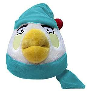 White Bird (Blue Hat & Scarf) ~6 Angry Birds Winter Hat