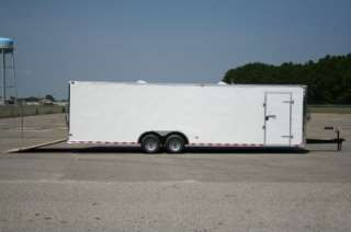 5x28 Cargo Enclosed Trailer Car Hauler Screwless One Piece Roof 5200