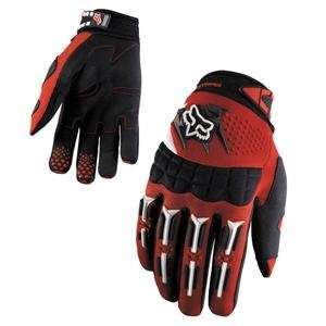 Fox Racing Youth Dirtpaw Gloves   2007   Small/Red