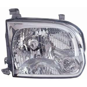 Toyota Sequoia/Tundra Replacement Headlight Assembly   Passenger Side