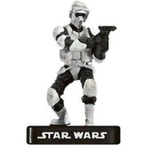 Star Wars Miniatures Scout Trooper # 31   Alliance and