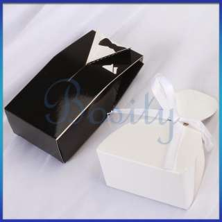 Tuxedo Dress Decoration Wedding Party Favor Gift Candy Boxes