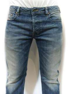 New DIESEL Brand Mens Zatiny 880K Stretch Bootcut Made in Italy Jeans