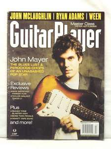 GUITAR PLAYER MAGAZINE JOHN MAYER JOHN MCLAUGHLIN WEEN