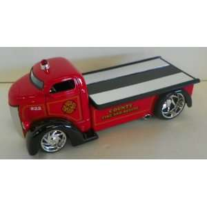 Jada Toys 1/24 Scale Diecast Heat Series 1947 Ford Coe County Fire