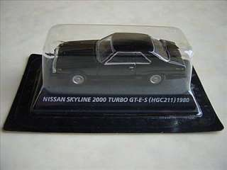 Japanese Miniature Car NISSAN SKYLINE 2000 TURBO GT ES