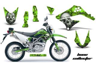AMR RACING OFF ROAD MOTORCYCLE GRAPHIC WRAP KAWASAKI D TRACKER KLX 125