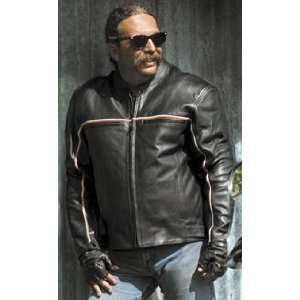 River Road Twin Iron Leather Jacket 44 Automotive