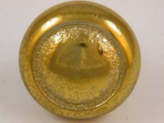 Antique Art Deco Concentric Moderne Brass Door Knob
