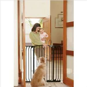 61 Black Extra Tall Hallway Security Gate (Set of 2)
