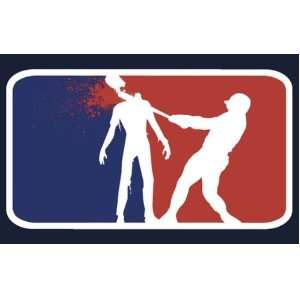 Major League Zombie Funny Vinyl Decal Sticker 4
