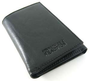 Kenneth Cole Reaction Fenway Black Trifold Wallet