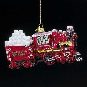 Kurt S. Adler Noble Gems North Pole Express Train Ornament