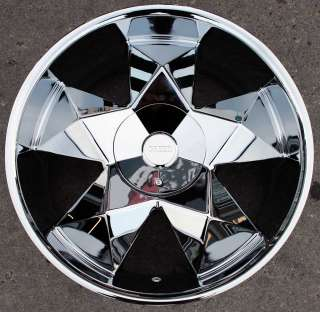 GREED VIRTUE 22 CHROME RIMS WHEELS TOYOTA TACOMA TUNDRA 6H
