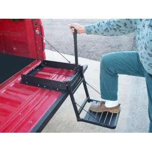 Buddy TNB2001B Tailgate Step   Black   For Trucks with Bed Covers