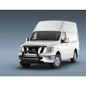 2012 Nissan NV Van 3 Black Bull Bar w/Skid Plate