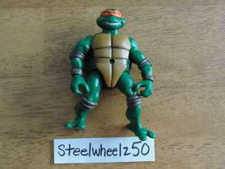 TMNT Michelangelo Figure 2002 Mutant Ninja Mike Turtle