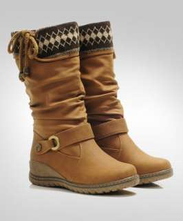 New Style Women/Ladies Chestnut Winter Warm Snow Boots Shoes Size #5
