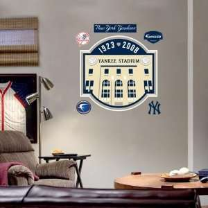 York Yankees Yankee Stadium Fathead Wall Sticker