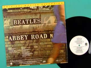 LP THE BEATLES ABBEY ROAD MFSL ORIGINAL MASTER NM JAPAN