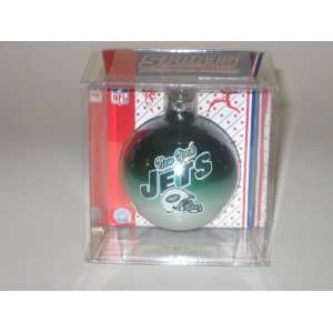 NEW YORK JETS (2 5/8 In Diameter) Multi Color CHRISTMAS