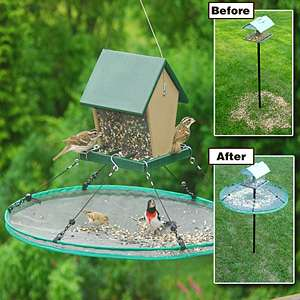 Bird Feeder Seed Catcher 16 In Hoop New 645194300347