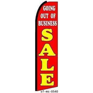 Going Out Of Business Sale Extra Wide Swooper Feather Business