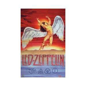 Led Zeppelin   Swan Song, Wall Poster, 23.5x35.5 [Kitchen