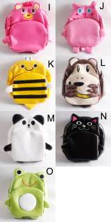 13 Style Baby Kid Child Animal Zoo Cartoon Backpack Schoolbag Shoulder