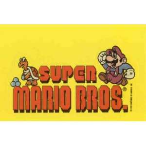 1989 Topps Nintendo Super Mario Bros #9 Sticker