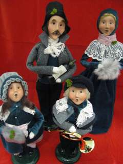 Byers Choice Carolers Victorian Family Set/4 NEW