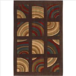 Mohawk Home 9032/87003 Modesto Dark Brown Rug Furniture & Decor