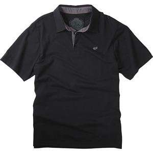 Fox Racing Sporadic Polo   Large/Black Automotive