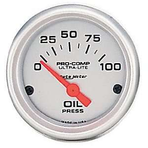 Auto Meter 4427 Ultra Lite Short Sweep Electric Oil
