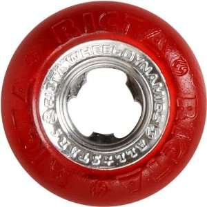 Chrome Cores All Star 52mm Red Skateboard Wheels
